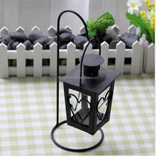 fashion ceramic wrought iron wall candle holder