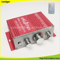 High Quality DC12V high power MINI motorcycle power amplifier
