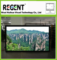 Customized 150inch 16:9 Fixed Frame Projector Screen, Competitive Price High Quality Home Theatre