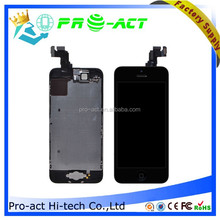 For iPhone 5C Complete Full LCD Screen Assembly +Front Camera +Earpiece+Home Button+LCD Shield Back Plate