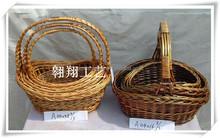 Fashionable wicker basket,flower basket,fruit basket
