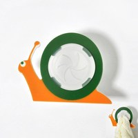 Snail design adhesive acrylic paper towel holder