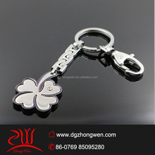 new 2015 wedding gifts floating four-leaf clover pendant metal keychain