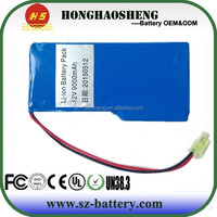 HHS rechargeable polymer battery 4058120 lipo battery lipo battery pack 12V