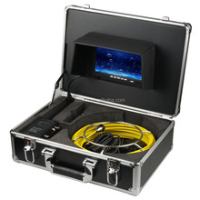 FDL-9200 CE FCC RoHS certificated CCTV sewer pipe inspection camera system black ABS case