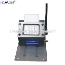 custom different shape and size manual plastic card hole puncher