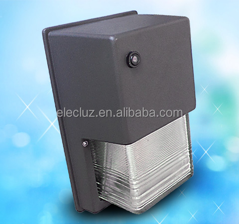 Glass Cover Photocell Ip65 18w Led Outdoor Wall Pack Light With 5 Years Warranty - Buy Led ...