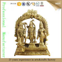 resin hindu gods and goddess indian goddess sculpture ram laxman sita statue for sale