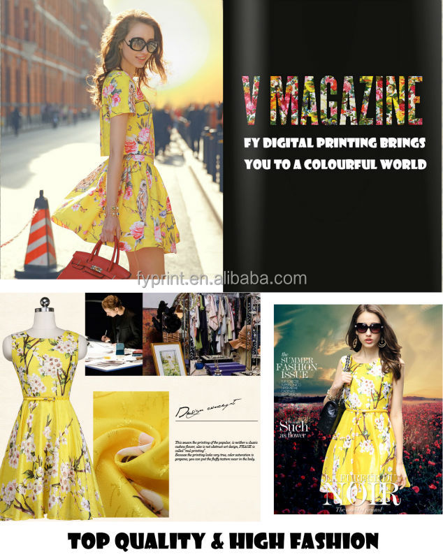 Digital Printing Factory Direct Cotton Voile Fabric For Garment