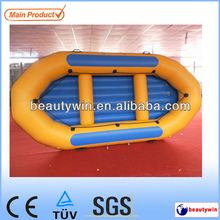 (CE)14ft inflatable water sports raft fishing boats for sale
