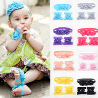 Hair Accessory Making Supplies Baby Foot Accessories With Hair Band Korea Style