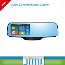 android special car rear view camera for honda city JIMI new JC900 GPS tracker rearview mirror DVR