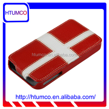 Popular & Stylish Premium leather phone case cover for Apple Iphone 4S