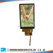 """3.97"""" 480x800 tft lcd screen with mcu 8080 interface with capacitive touch screen"""