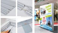 Mental Extrusion large size indoor & outdoor backlit snap frame led advertising light box/Advertising Fabric LED Backlit