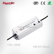 24v 36v 100W LED dimmable power supply with PFC function Meanwell with CE ROHS KC Certifications