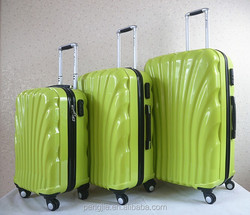 hot selling 3 pcs luggage and trolley bags with high quality from Baigou China