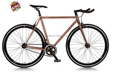 steel frame fixed gear bicycle