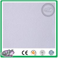 Good sound absorption 2016 gypsum board false ceiling 7mm thickness with low price