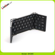 Rechargable Bluetooth 3.0 Wireless Folding Compact Pocket Size Bluetooth Keyboard