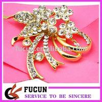 new design wholesale cheap rhinestone brooch jewelry high quality various bulk flower rhinestone brooch