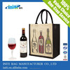 high quality wine bag:eco friendly wine bottle bag:non woven bottle bag