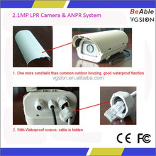 anpr lpr camera Switch signal Alarm Input anpr camera 1080P high speed digital cctv ip lpr camera for license plate recognition