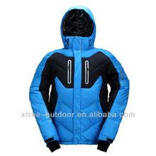 exterior de alta calidad hombres chaqueta de snowboard