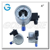 High quality vibration-proof electric contact pressure gauge