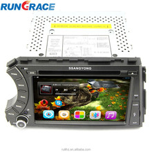 Android 4.2.2 ssangyong kyron car dvd player with 3G wifi