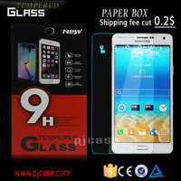 best quality 9H 0.3mm 2.5D mobile phone screen protector for BlackBerry Q10, tempered glass screen protector for BlackBerry Q10