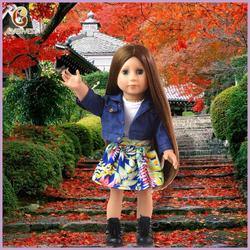 custom cheap american girl doll 18 inch for sale/little girl doll models