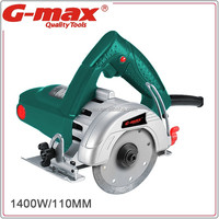 G-max 1400W 110mm/125mm Hand Held Concrete Cutting Saw GT15011