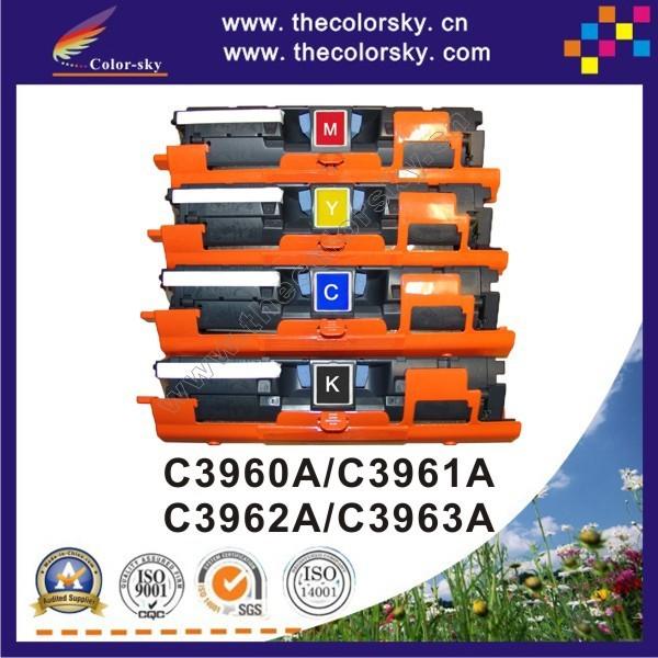 Картридж для принтера For HP C3960A C3961A  C3962A C3963A HP LaserJet 1500 1500 1500Lxi 2500 2500 l 2500 2500tn 2500Lse 5k /4.5 k freedhl  for HP Colour LJ 1500 1500L 1500Lxi 2500 2500L 2500n 2500tn 2500Lse