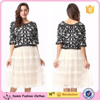 Ladies New Design Fashion Knitted Top