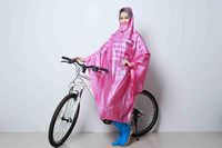 OEM fashion women bike poncho poncho PVC european style all cover raincoat