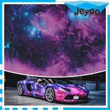 JEYCO VINYL 1.52*30m High grade low cost galaxy vinyl car wrap uv protection vinyl sticker