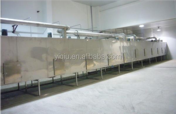 Dehydrated vegetables Mesh belt dryer