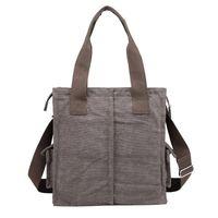 Guangzhou bag factory Korean design canvas bag for men