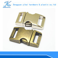 Types of metal buckles for dog collars,buckle with logo service,Curved metal Buckle for Pet Collar