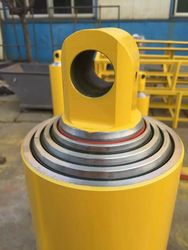Front-end telescopic OEM hydraulic cylinders for foreign dump trucks lifting