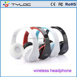 Cheap wireless 3.5mm bluetooth stereo headphone headset for iphone ipad Laptop Tablet and PC