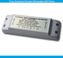 cheap small fireproof plastic cover 15w triac dimmable led driver with 0-100% dimming range