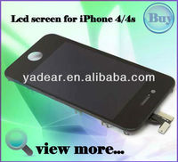 Shenzhen yadear for iphone 4s lcd with digitizer touch screens