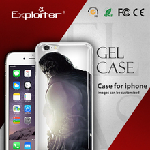 Top level crazy selling soft mobile phone cover case for iphone 5s case 3d
