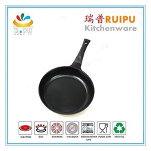 as seen tv high quality aluminum material marble stoned coated fry pan cooking pans