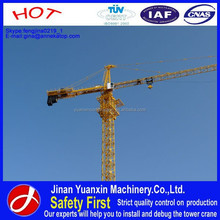 Chinese high safety & steady performance YX80-5610 building tower crane