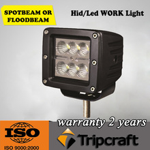 """Square car lamp 18W 3"""" led front head light for 4x4 off road,12V led auto driving light"""
