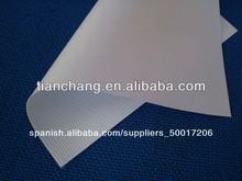 Alta calidad, bandera de la flexión del formato grande de PVC, PVC lona para cartelería para la impresión digital, 1.02m 3.20m