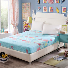 wholesale designer top sale fitted bed sheet good quality fancy fitted sheet patterned